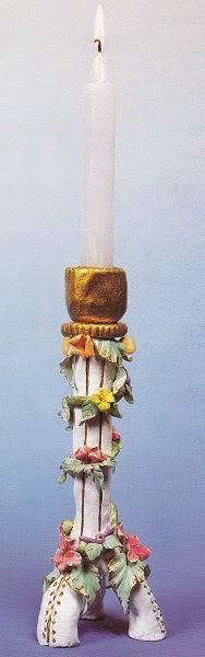 manualidad candelabro