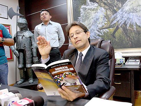 Presidente del Tribunal Supremo Electoral de Honduras
