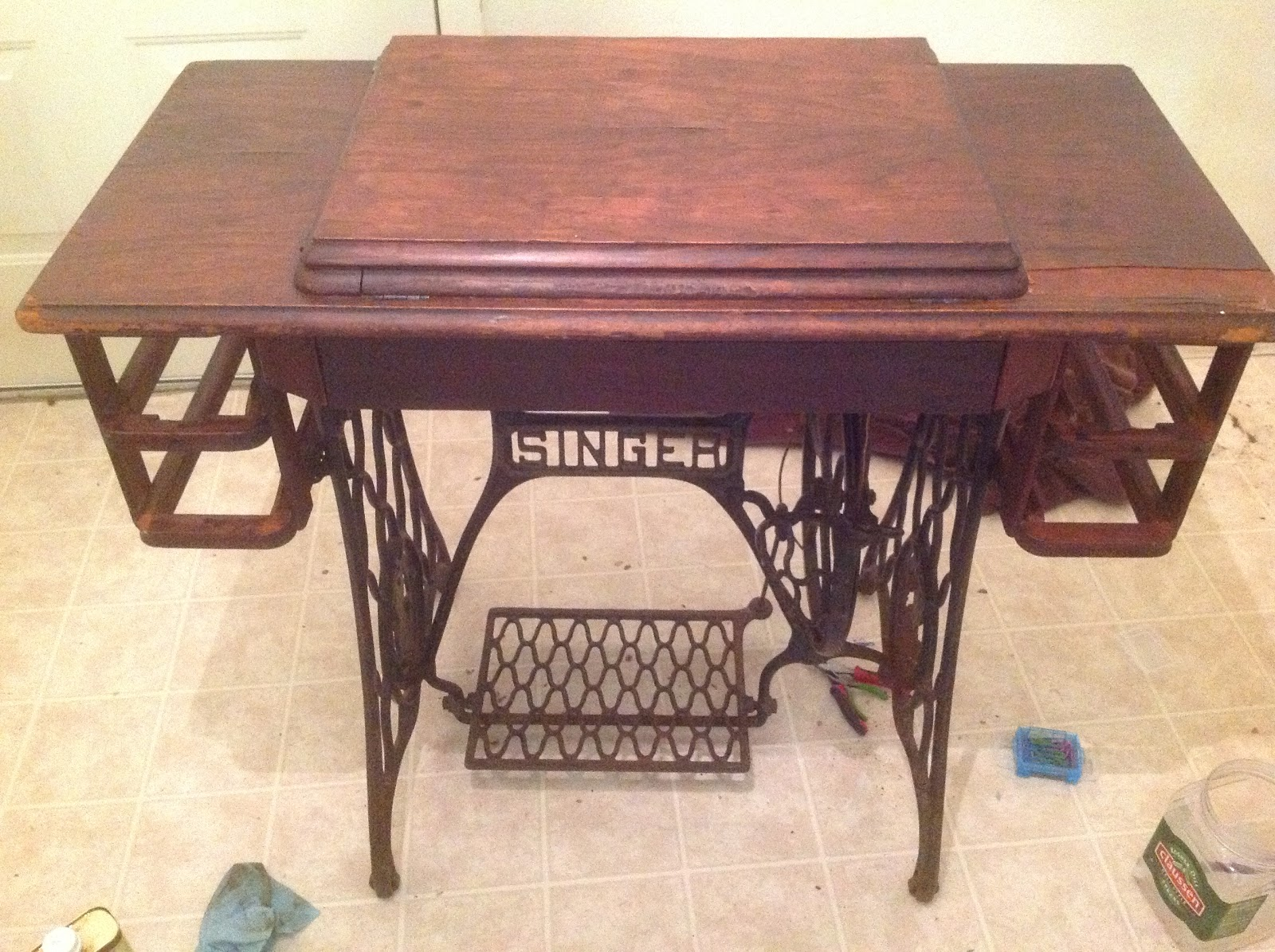 Replacing The Drawers/frames On The Singer Treadle
