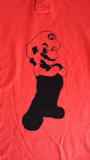 DIY Fashion : Sharpie Super Mario T-Shirt Tutorial