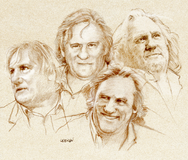 Gerard Depardieu - por...
