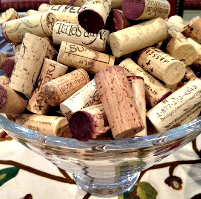 Wine cork craft project grace grits and gardening - Grey gardens dive per sempre ...