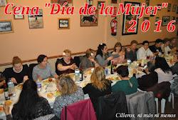 """CENA """"DÍA DE LA MUJER"""" 2016"""