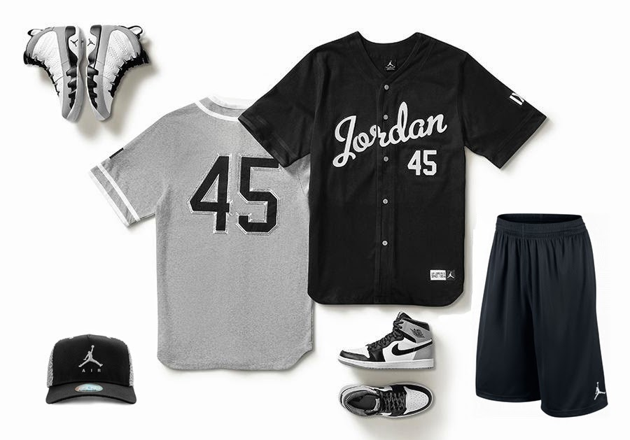 chemise baseball homme jordan birmingham barons gris. Black Bedroom Furniture Sets. Home Design Ideas