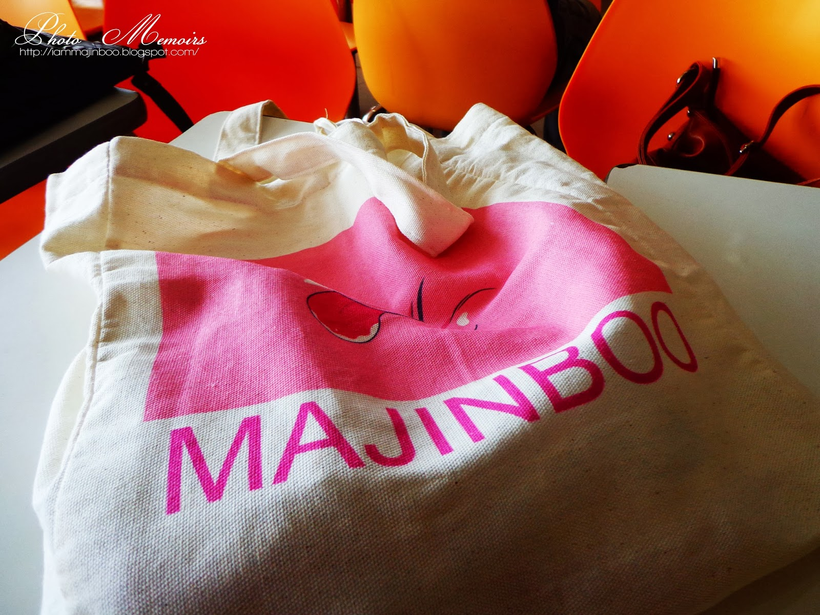 Majinboo Tote Bag from Gush Shop