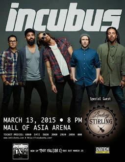 Incubus Live in Manila