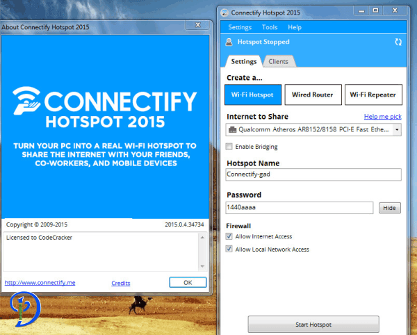 connectify me hotspot crack download