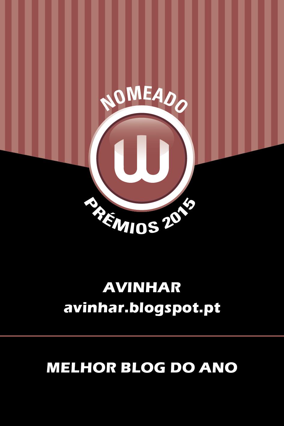 Prémios W 2015 - Nomeação Melhor Blog do Ano