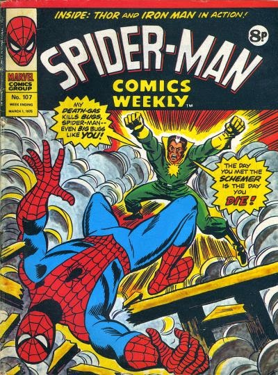 Spider-Man Comics Weekly #107, the Schemer