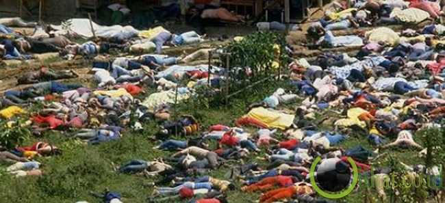 Bunuh diri massal sekte Kuil Manusia