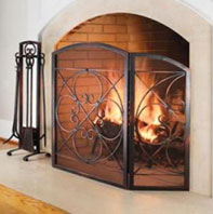 Fireplace Screen Model