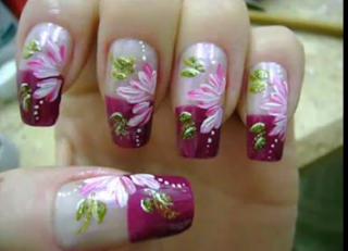 foto de uma estilo floral