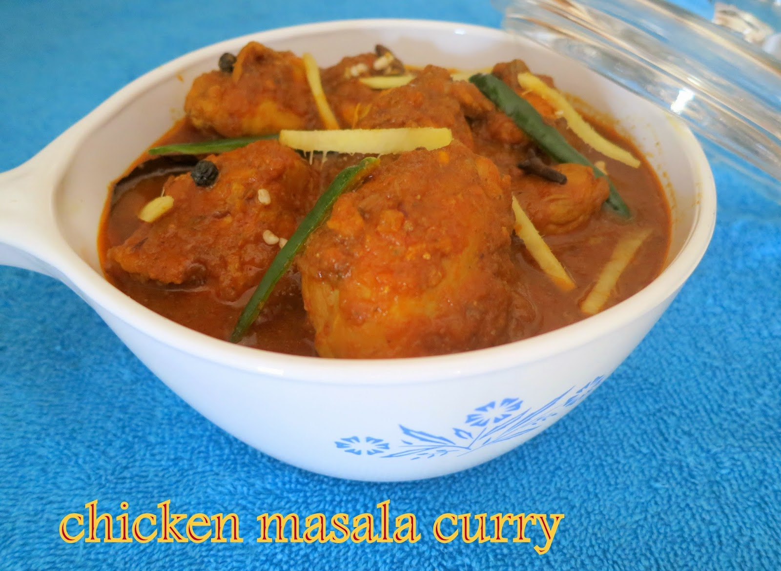how to cook delicious chicken curry