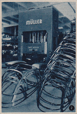 Heinkel Kabine manufacturing press phots