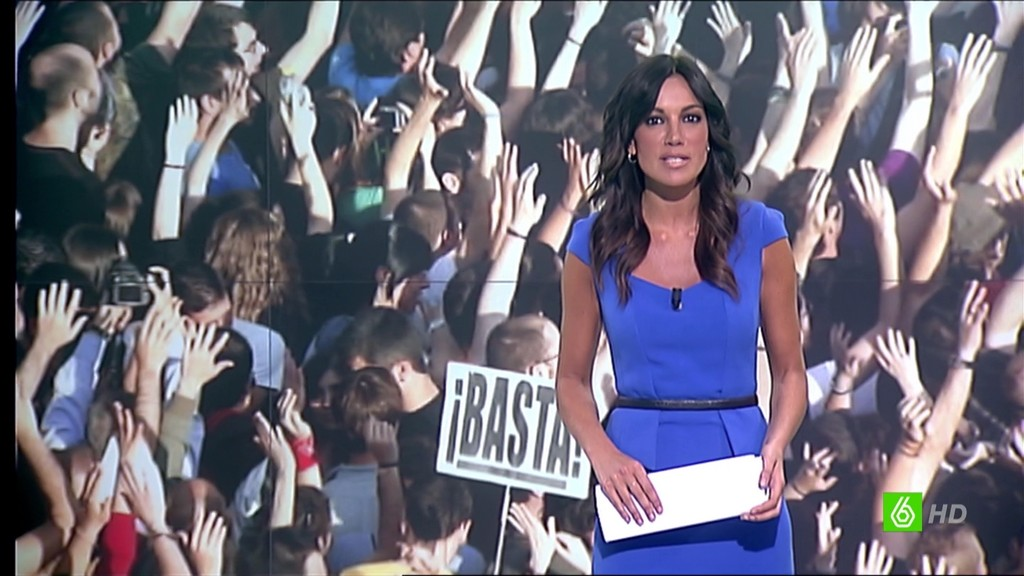 CRISTINA SAAVEDRA, LA SEXTA NOTICIAS (15.05.13)