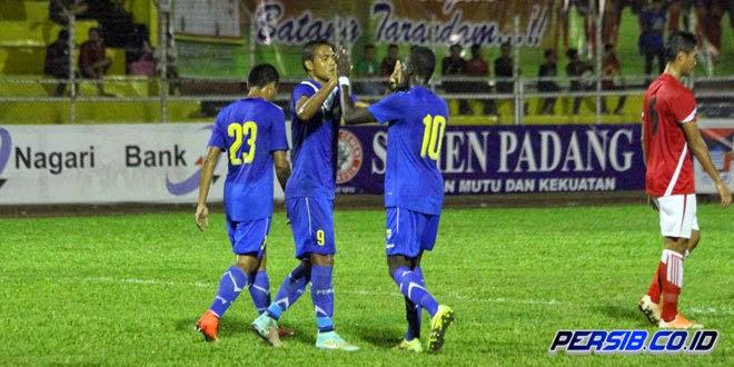 HT: Persib vs Persiba 2-0  Final Piala Walikota Padang
