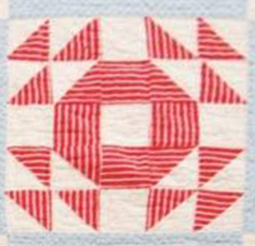 Civil War Quilts 52 Christmas Star