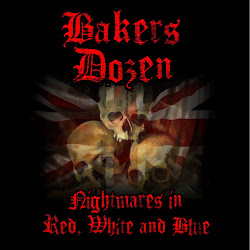 Bakers Dozen-Nightamares in red white and blue