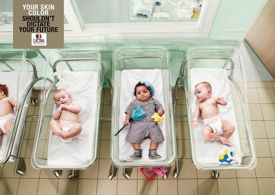 40 Of The Most Powerful Social Issue Ads That'll Make You Stop And Think - Your Skin Color Shouldn't Dictate Your Future