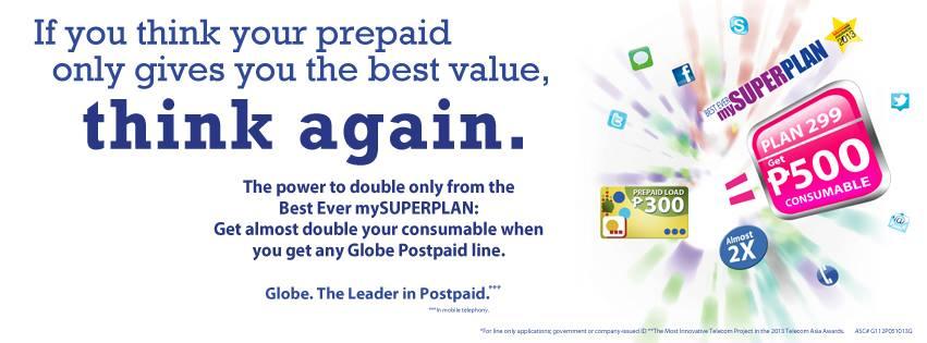 Globe my super plan freebies