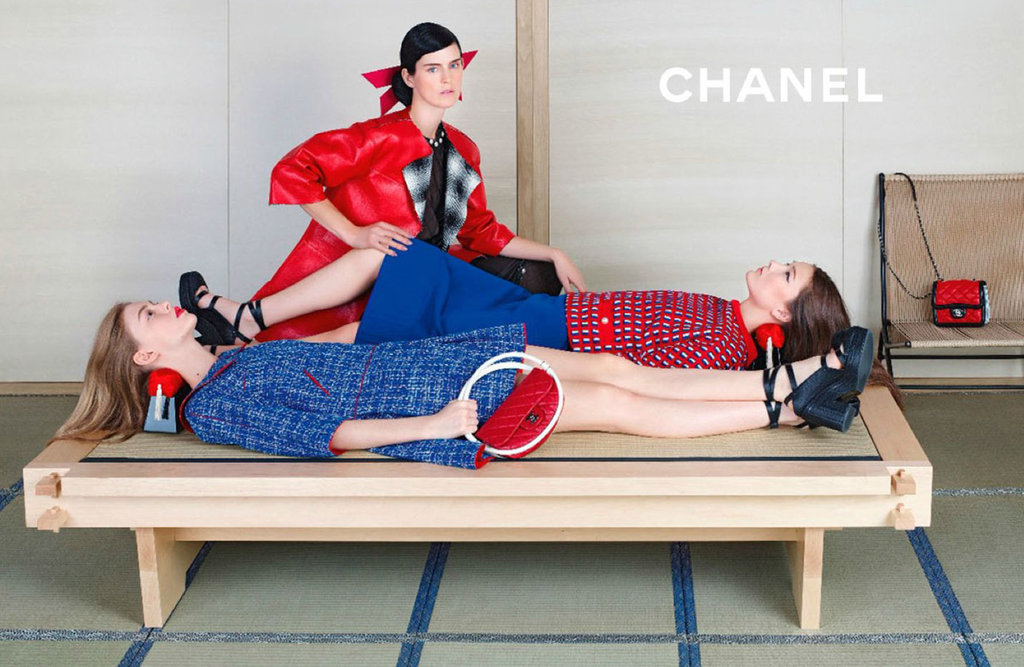 Chanel spring summer 2013 2014 caign collections chanel 2013 2014