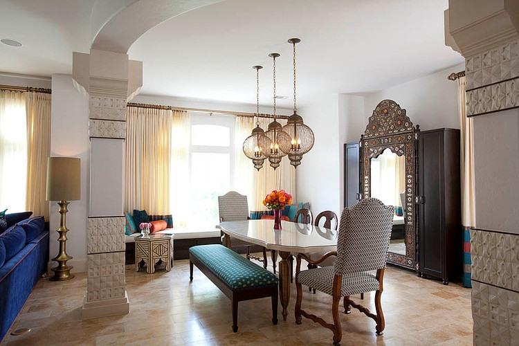 Arquiteta evelyn luci decora o marroquina for O que significa dining room em portugues