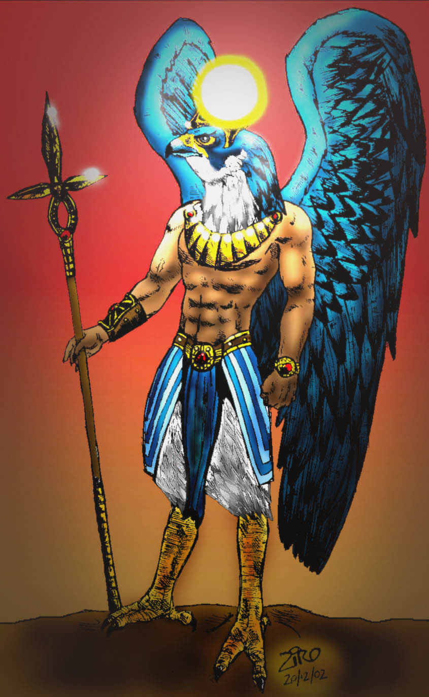 horus son of ra