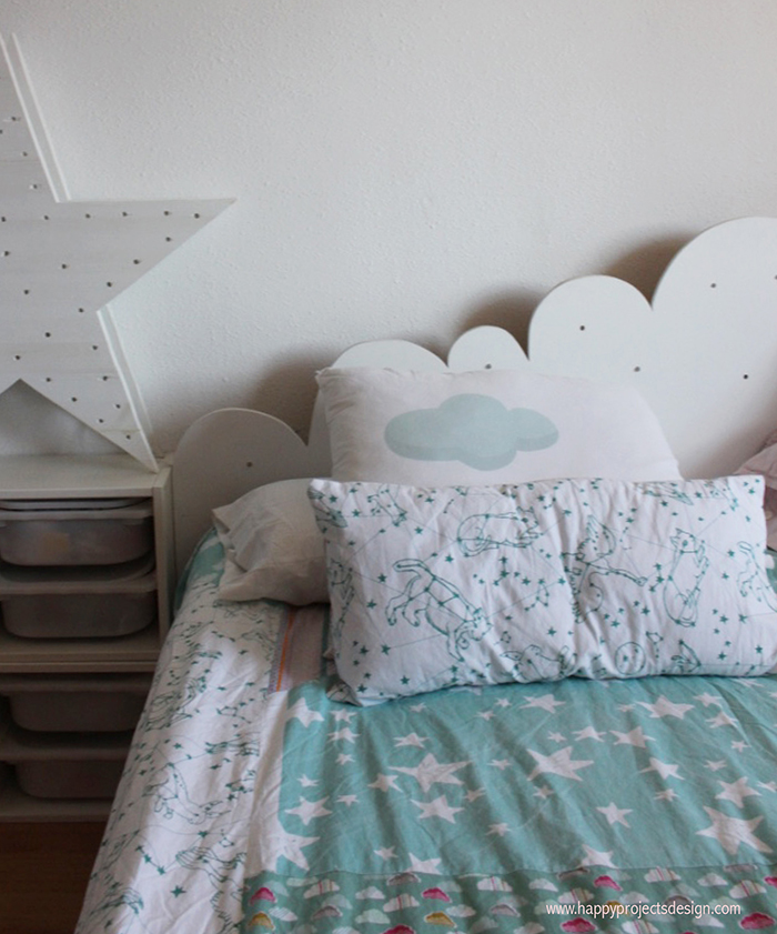 Habitación infantil DIY: colchas