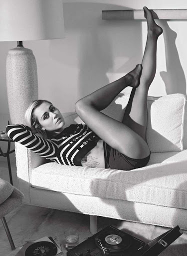 Miley Cyrus Marie Claire UK Magazine January 2016 Photos