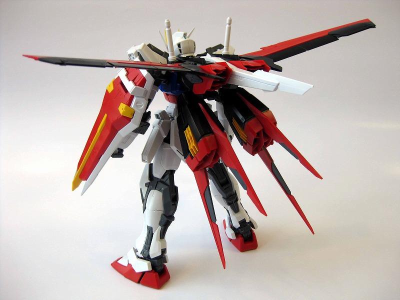 MG 1/100 Aile Strike Gundam Ver. RM - Review by YellowSubmarine Hobby Blog