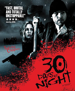 Poster Of 30 Days of Night (2007) In Hindi English Dual Audio 300MB Compressed Small Size Pc Movie Free Download Only AT DOWNLOADINGZOO.COM