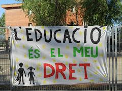 Retallar en educació és retallar el futur dels nostres fills.
