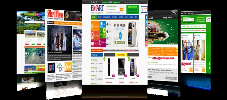 Dịch vụ thiết kế website trên nền tảng Blogger