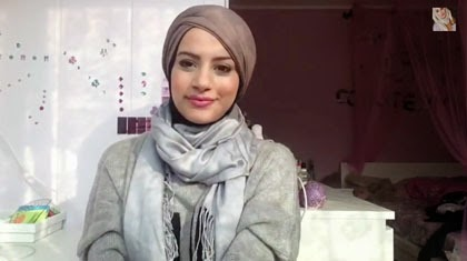 Tutorial Model Hijab Turban Tanpa Jarum Pentul dan Tidak Bertumpuk