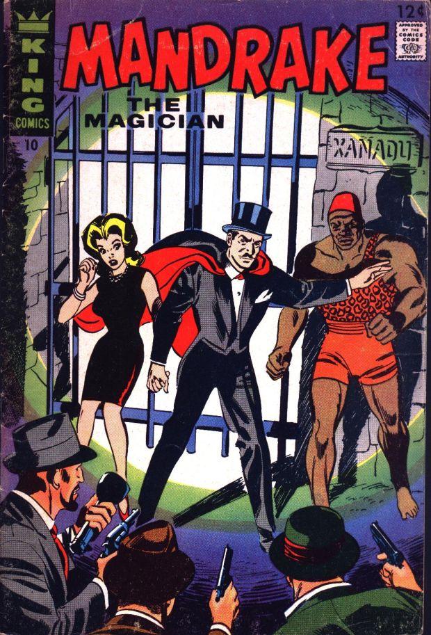 old comics world mandrake the magician 01 10 1966 67 king