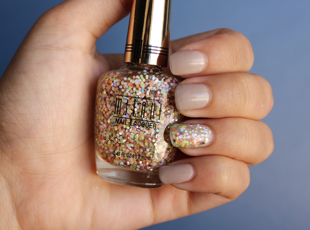 milani nail laquer in sugar rush swatch