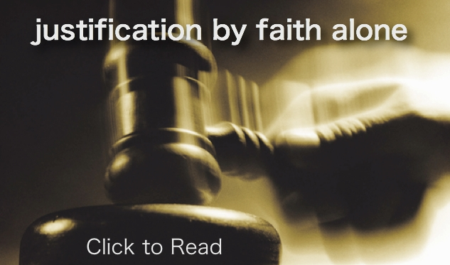 thesis statement on justification by faith