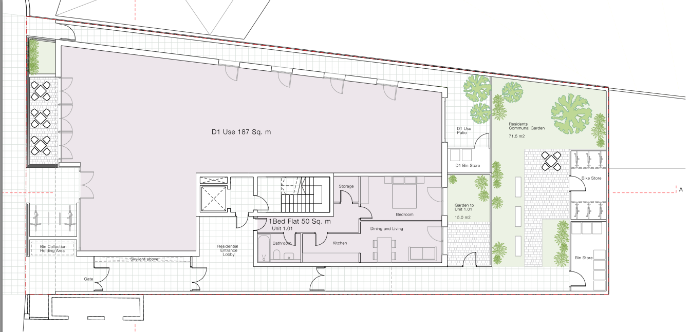 One Bedroom 40sqm likewise Stylish A Narrow Laundry Room With The Large Sink And The Top Loading Small Bathroom Ideas With Washer And Dryer Layout together with Revised Plans For Cricklewood Library besides 3d Floor Plans Small Living Spaces additionally Country Kitchen Cabi s. on small apartment floor plans