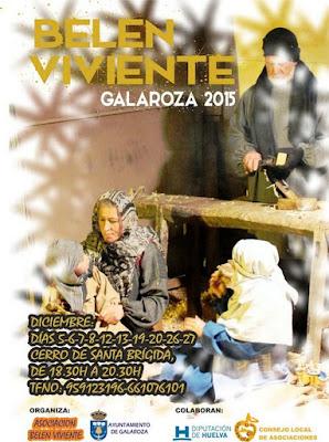 BELÉN VIVIENTE DE GALAROZA 2015 - HUELVA