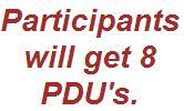 Earn 8 PDUs FREE