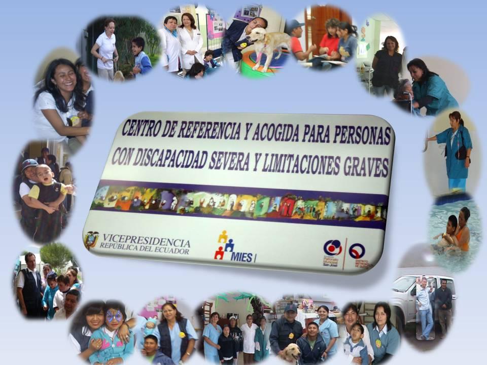 CENTRO DE REFERENCIA PARA PERSONAS CON DISCAPACIDAD SEVERA