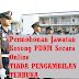 Permohonan Jawatan Kosong PDRM Secara Online