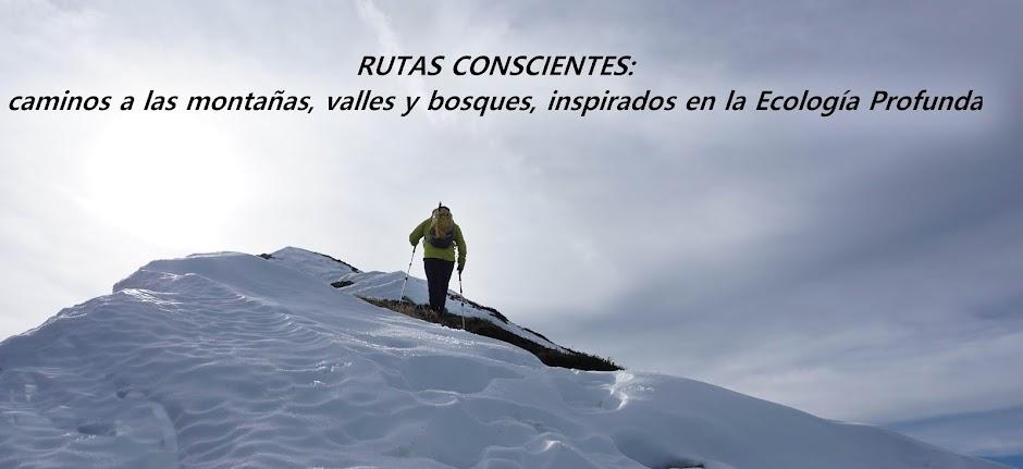 RUTAS CONSCIENTES: MONTAÑAS Y BOSQUES.