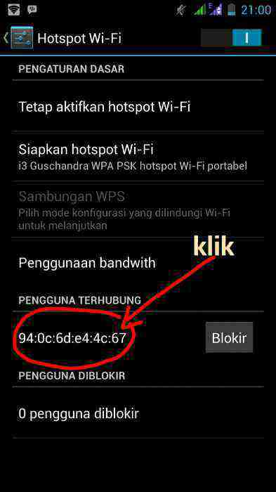 How to Know the IP Address of a Connected Android Hotspot