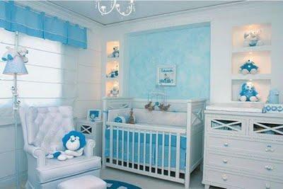 Decora el hogar decoraci n de la habitaci n del beb for Habitacion bebe moderna