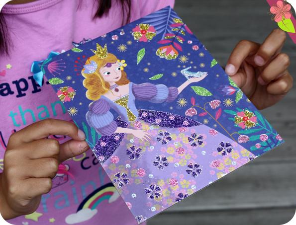 Coffret mes créations - Princesses à pailleter - Gründ Jeunesse