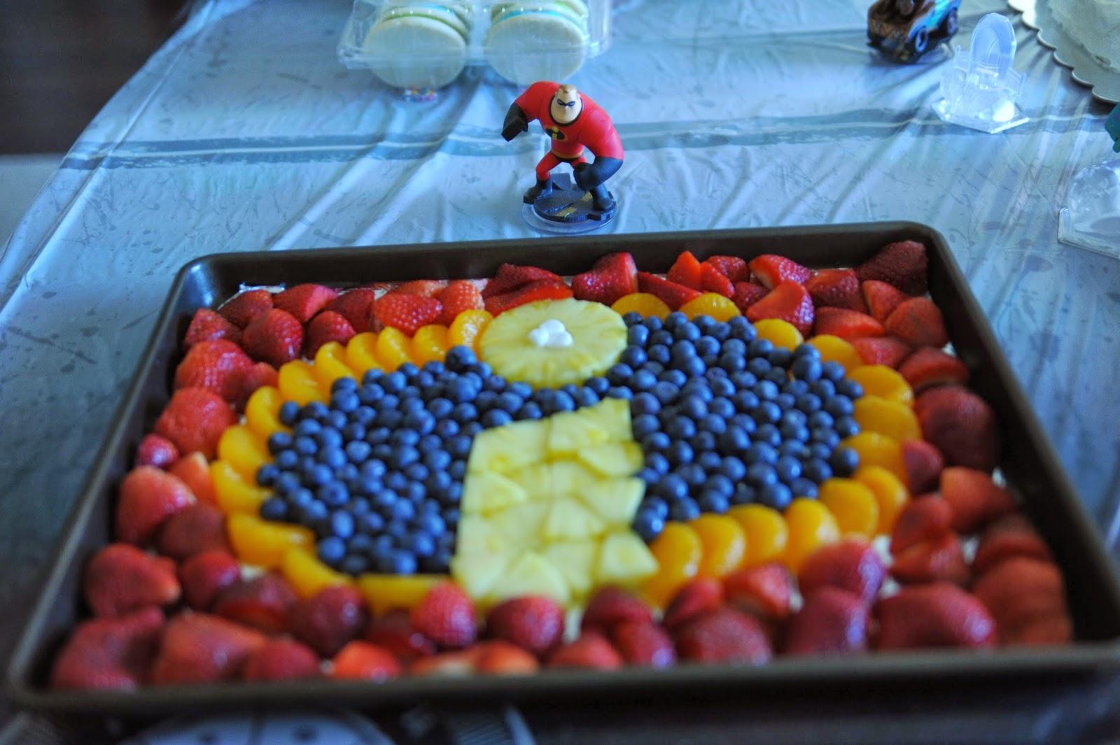 The Incredibles Cake Idea