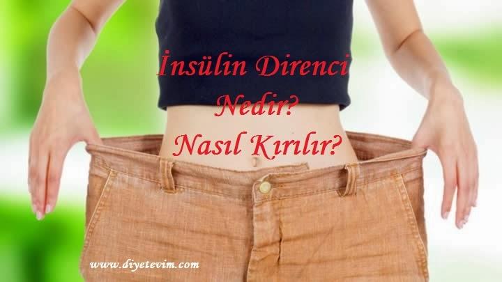 insülin direnci nedenleri
