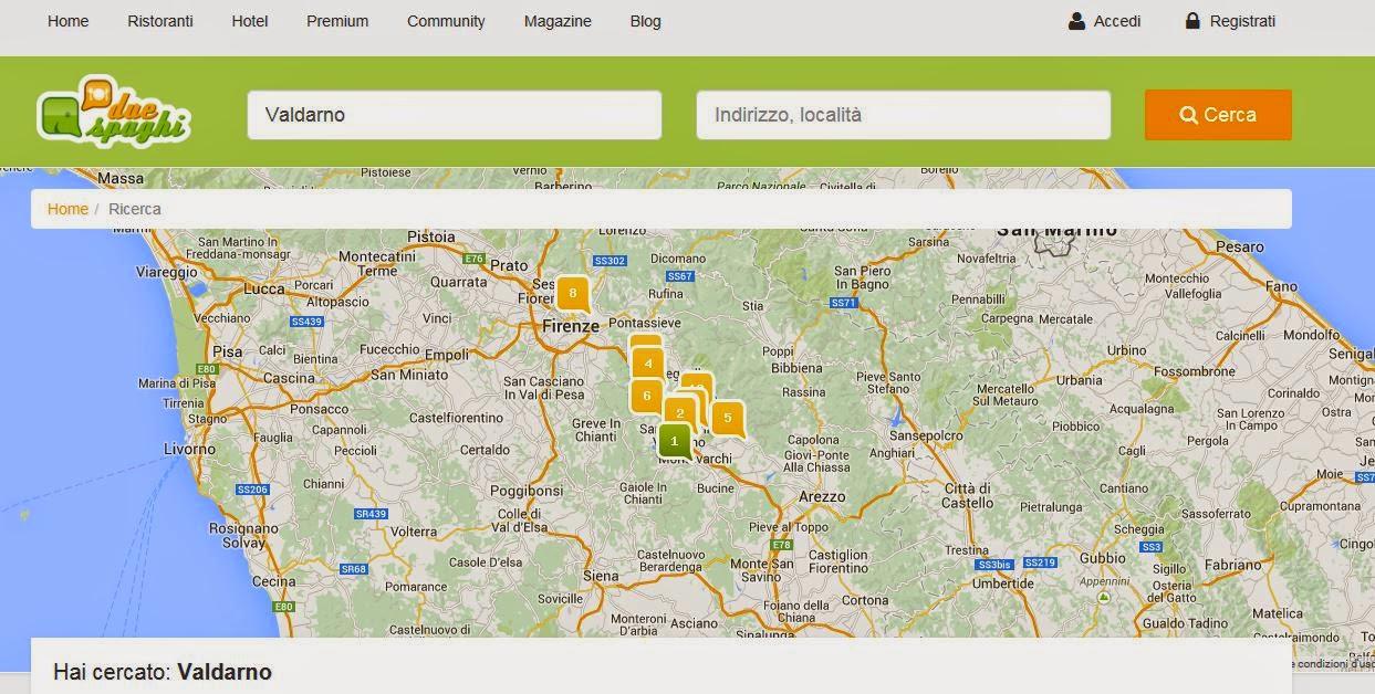 Come cercare un ristorante nel cuore della Toscana