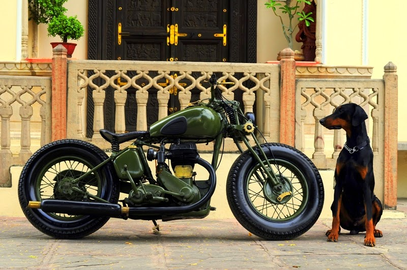 royal enfield rajputana customs